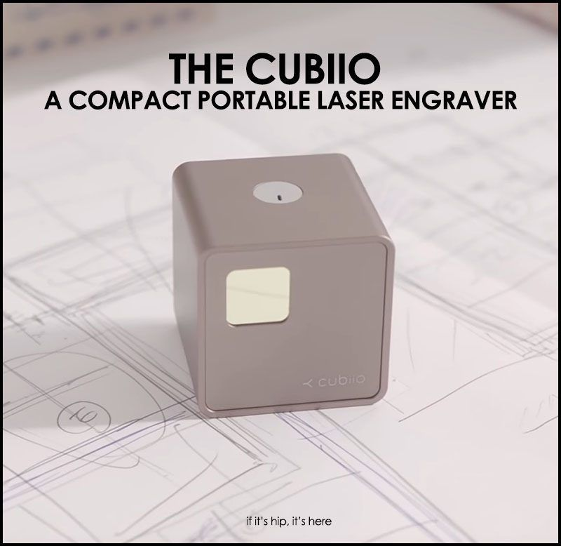 Portable Laser Engraver >> Now You Can Laser Engrave Anywhere With Cubiio Cool Things