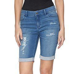 24b530e04c Women s Juicy Couture Flaunt It Bermuda Jean Shorts
