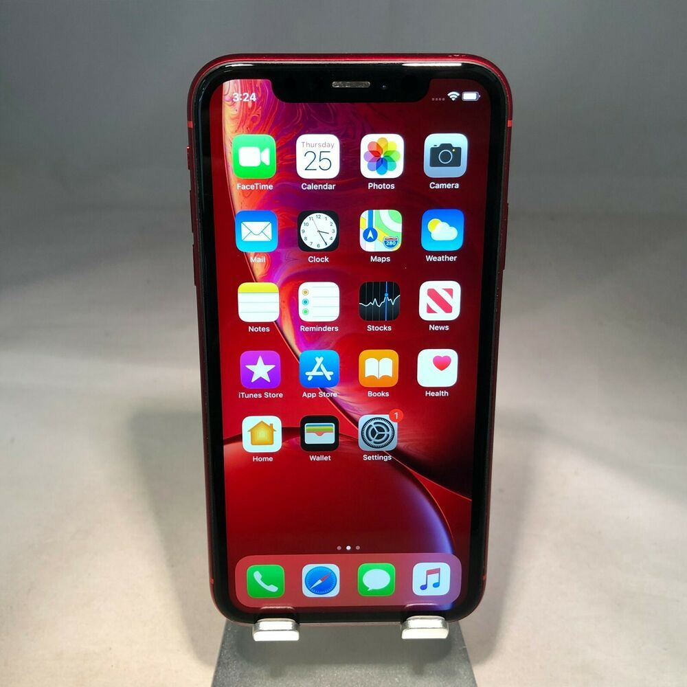 Apple iPhone XR 64GB PRODUCT Red TMobile Fair Condition
