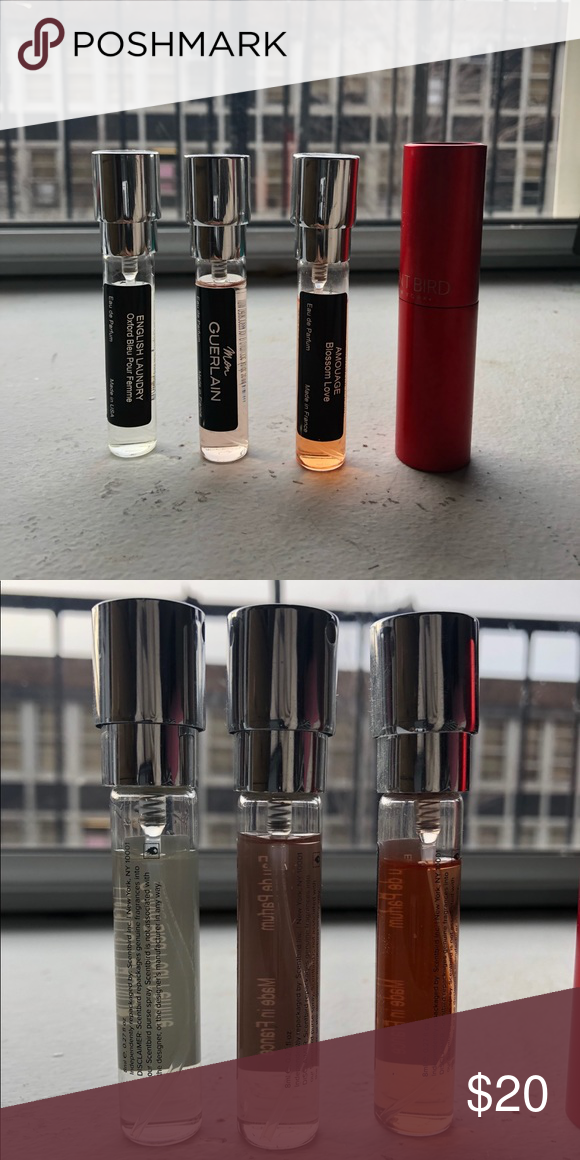 Sample Lot Mon Guerlain Amouge Blossom Love More With Images