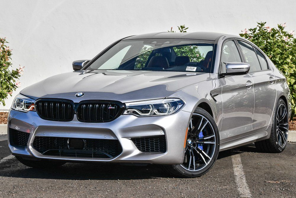 New 2019 BMW M5 With Navigation & AWD New 2019 BMW M5  4dr Car for sale - only $117,675. Visit BMW Santa Barbara in Santa Barbara CA serving Goleta, Carpinteria and Montecito #WBSJF0C53KB285125 #bmw