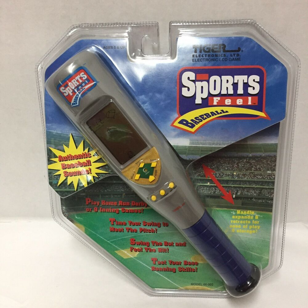 Tiger Electronic Handheld Sports Feel Baseball LCD Travel