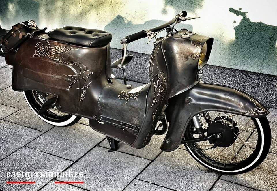 Eastgermanbikes Simson Moped Simson Schwalbe Und Schwalbe Moped