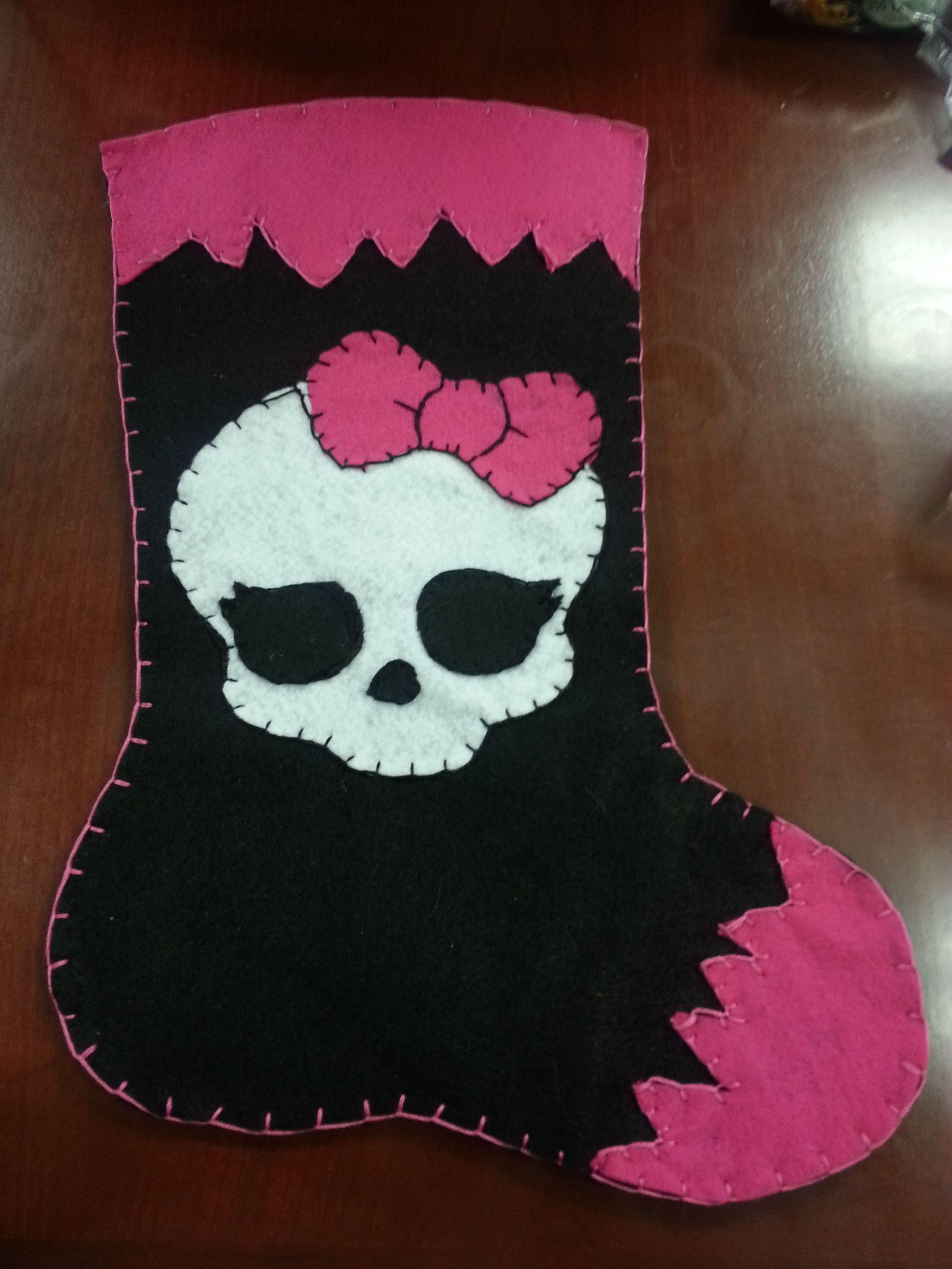 Monster High Christmas Stocking