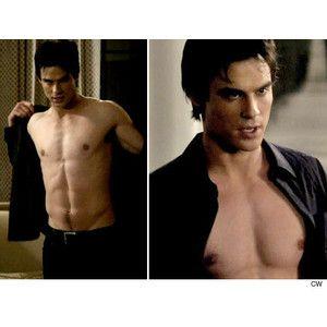 Damon Salvatore Shirtless Google Search Pretty Ian Somerhalder