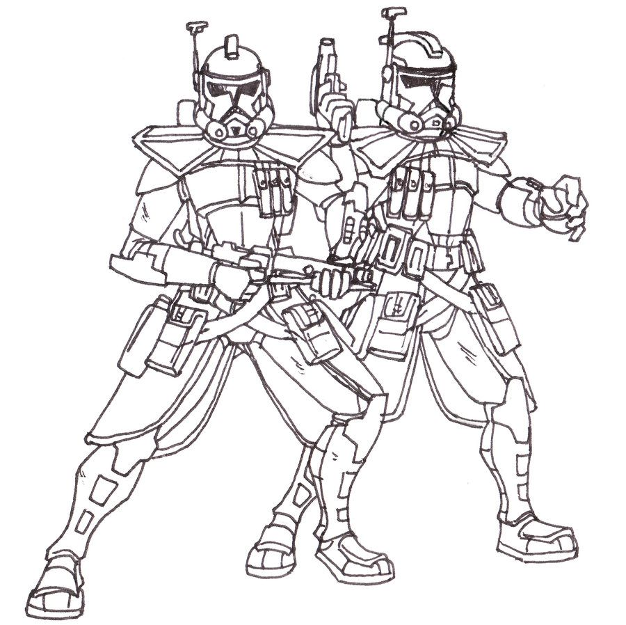 clone war coloring pages - photo#31