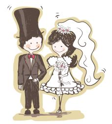 Dsenho para casamento