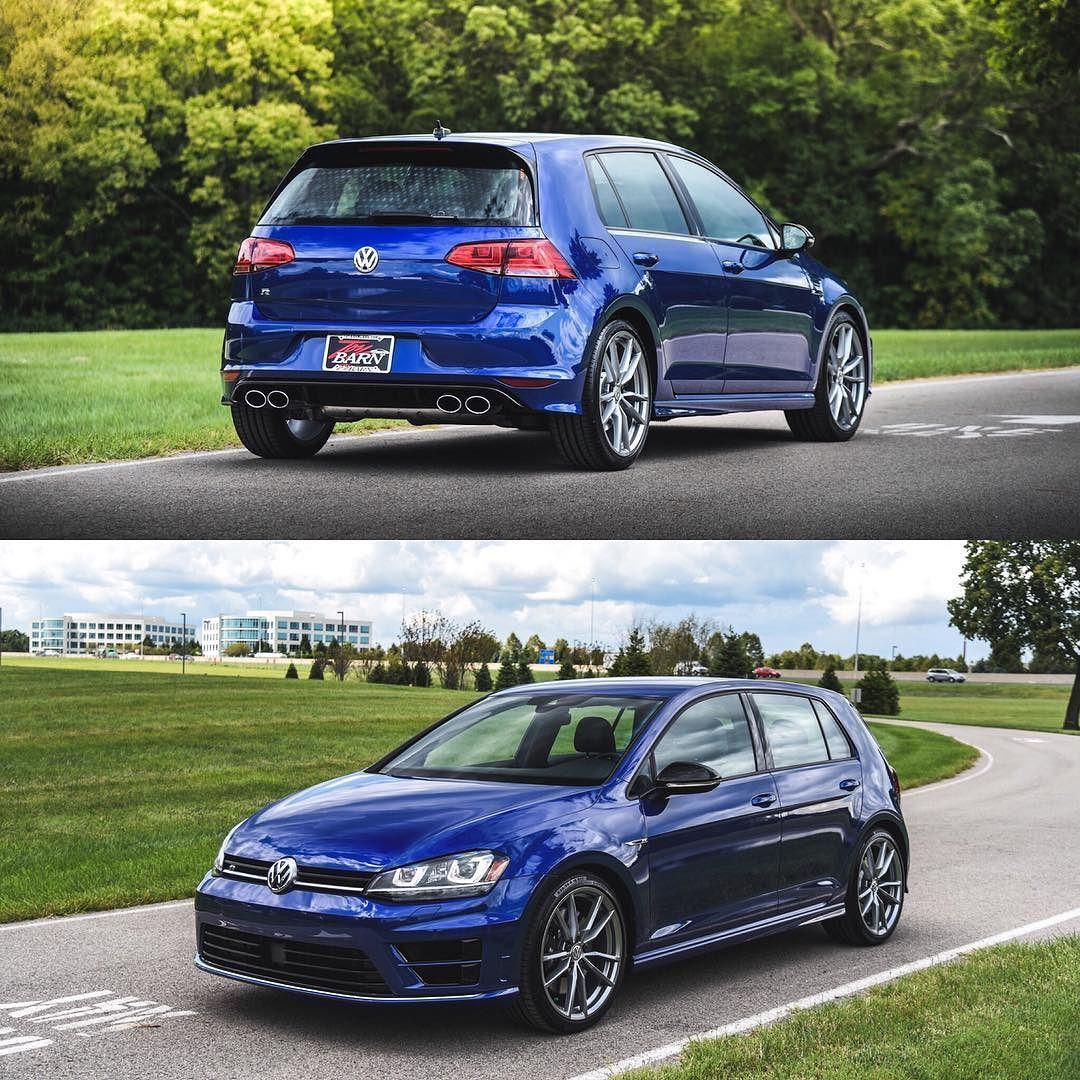 2017 Volkswagen Golf R in Lapiz Blue Metallic! This incredible car ...