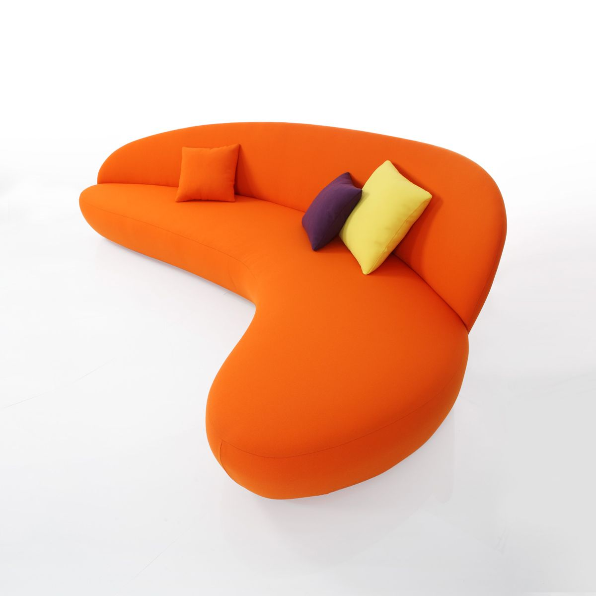 Canap orange newton meubles et atmosph re canap sofa pinterest - Meuble et atmosphere ...
