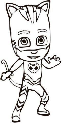 Desenhos Do Pj Masks Para Colorir E Imprimir Desenhos Animados