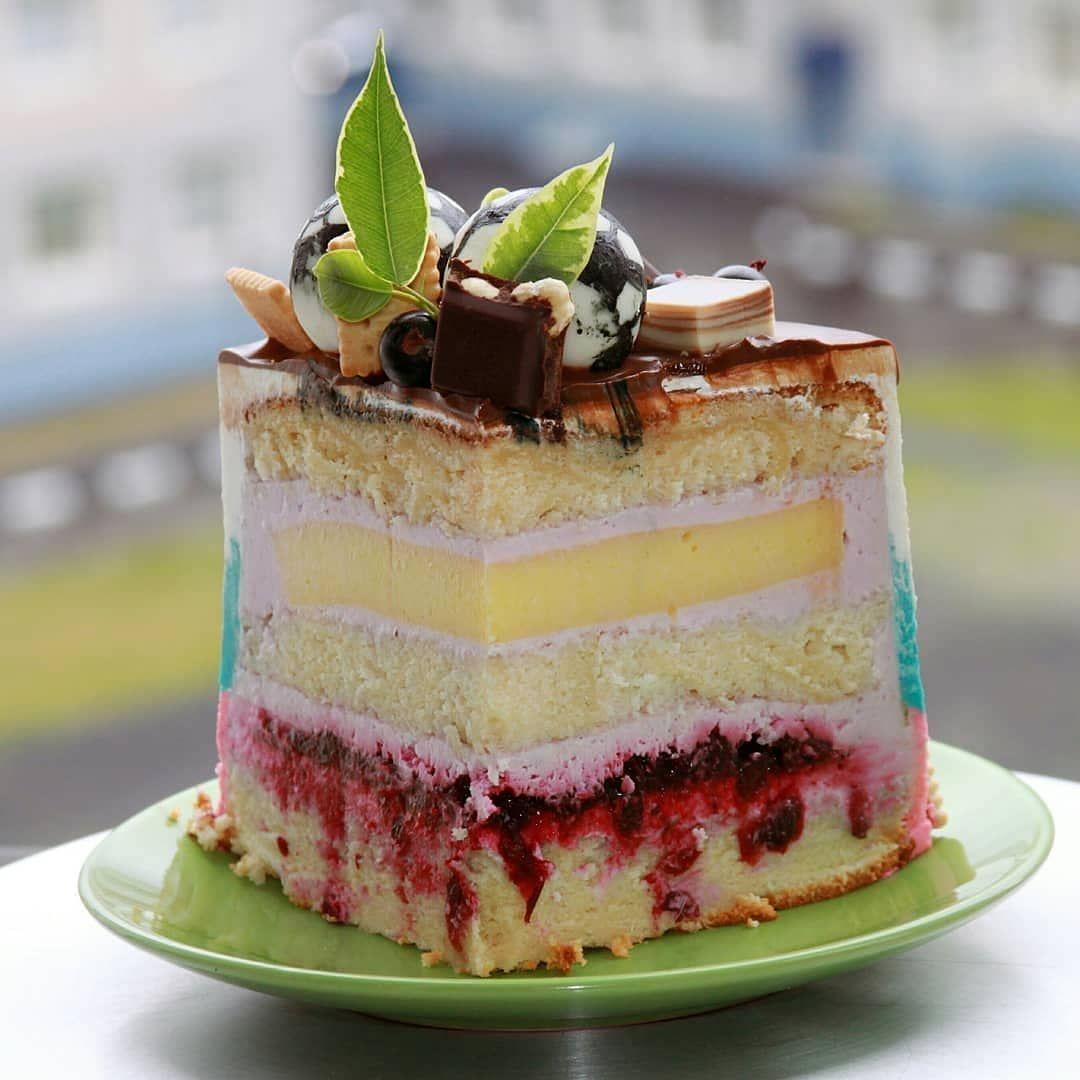 очень вкусный торты в разрезе фото с рецептом это