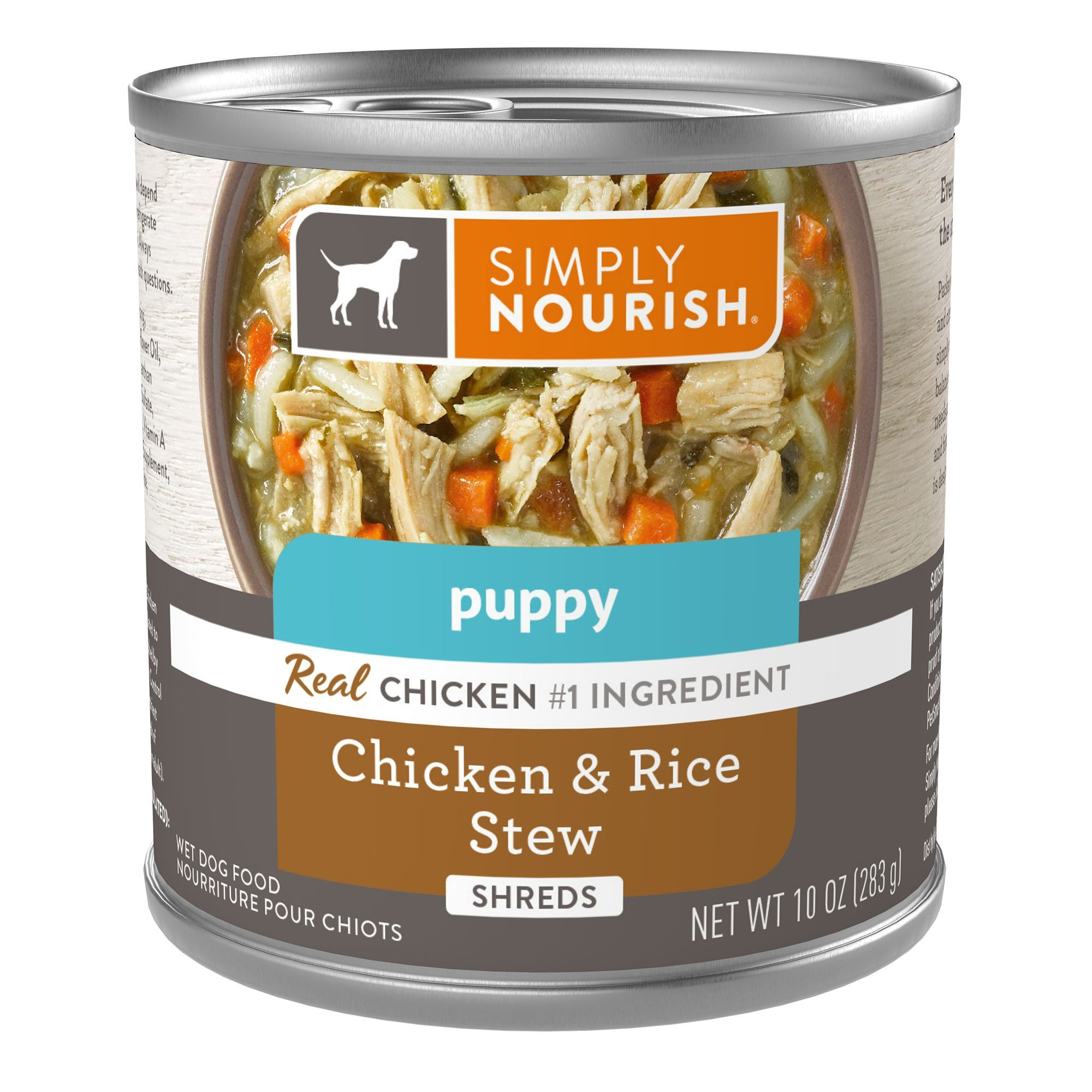Simply Nourish Stew Puppy Food Natural Size 10 Oz Copper Gum