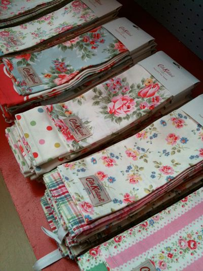 Tea Towels From Cath Kidston Vintage