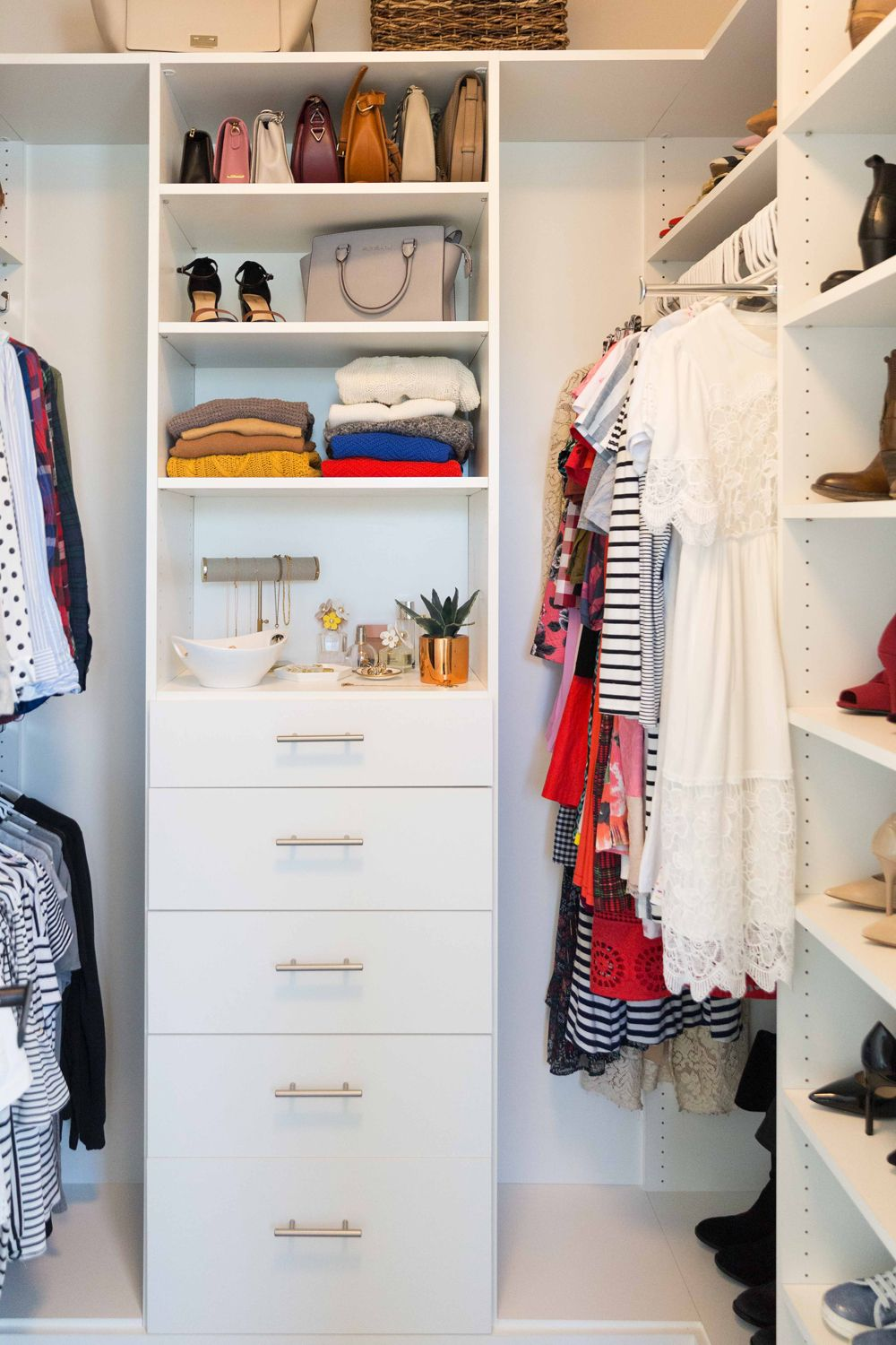 My Closet Reveal 6 Ways To Maximize Closet Space How To Organize Your Closet Spring Cleaning Bedroom Cleaning Hacks Bedroom