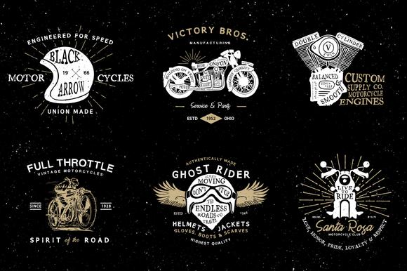 Vintage Motorcycle Logos Motorcycle Logo Vintage Logo Hand Drawn Logo