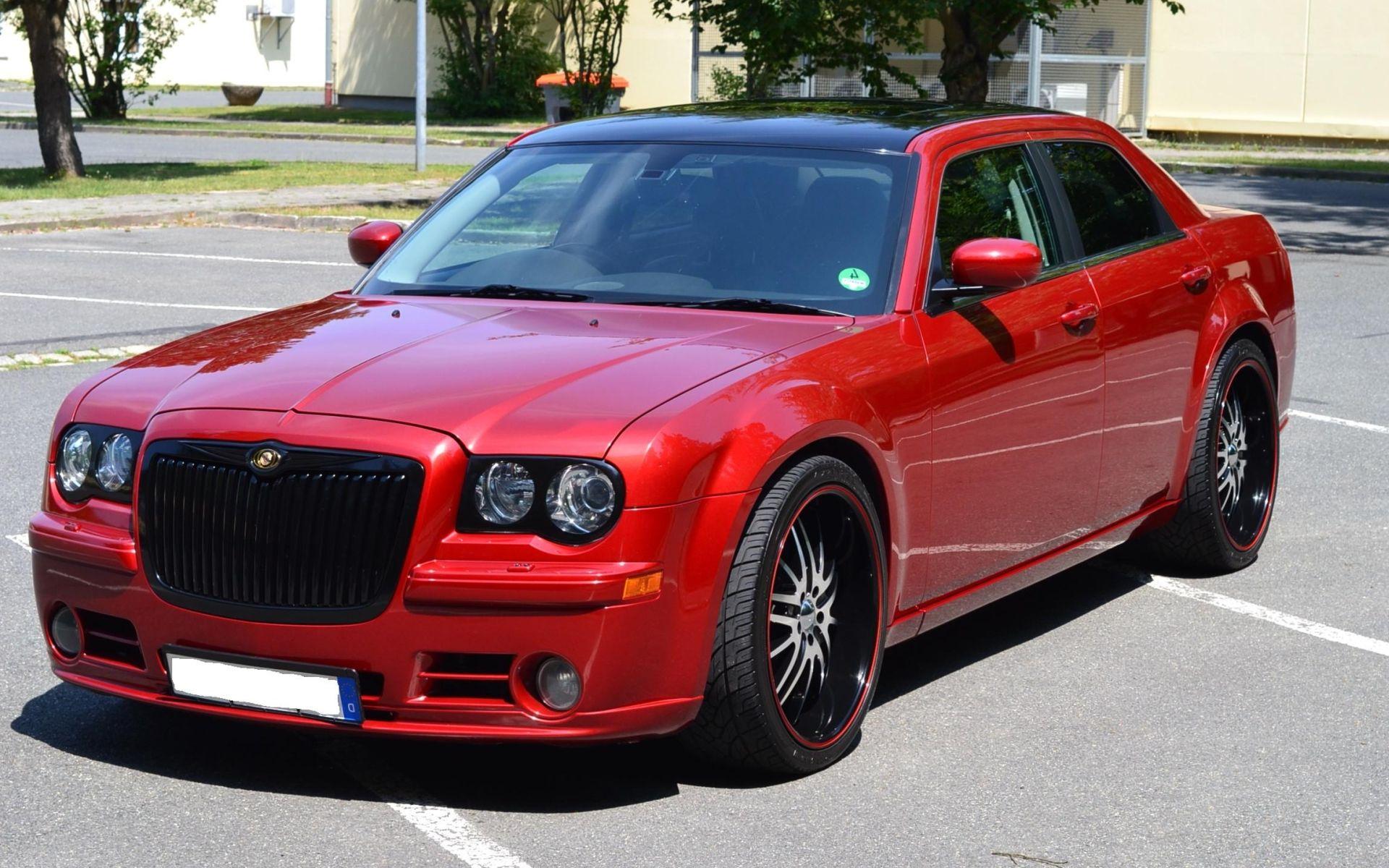 Red Chrysler 300 >> Chrysler 300c Red Car Hd Wallpaper Trucks And Cars Pinterest