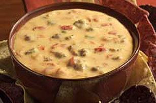 VELVEETA Spicy Sausage Dip recipe