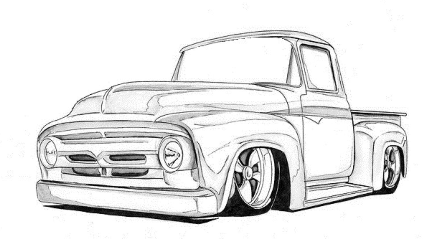 1953 ford f100 hot rod