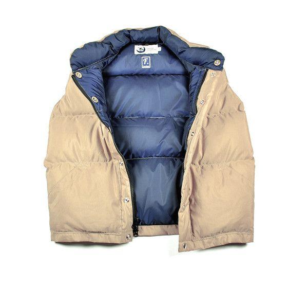 Loveless Collection Cresscent Down Works Italian Vest