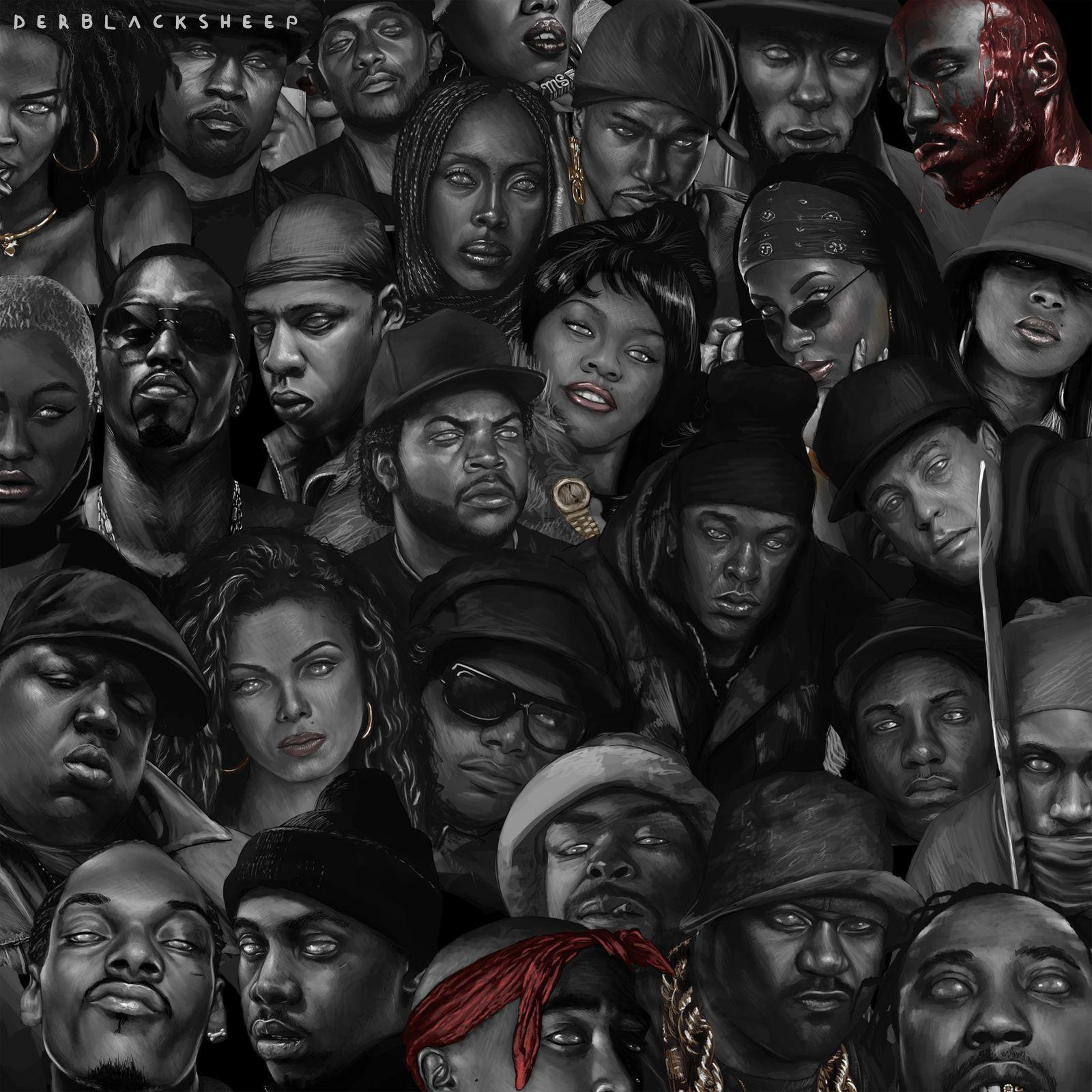 Der Black Sheep Derblacksheep Hip Hop Art Hip Hop Artwork Hip Hop Poster