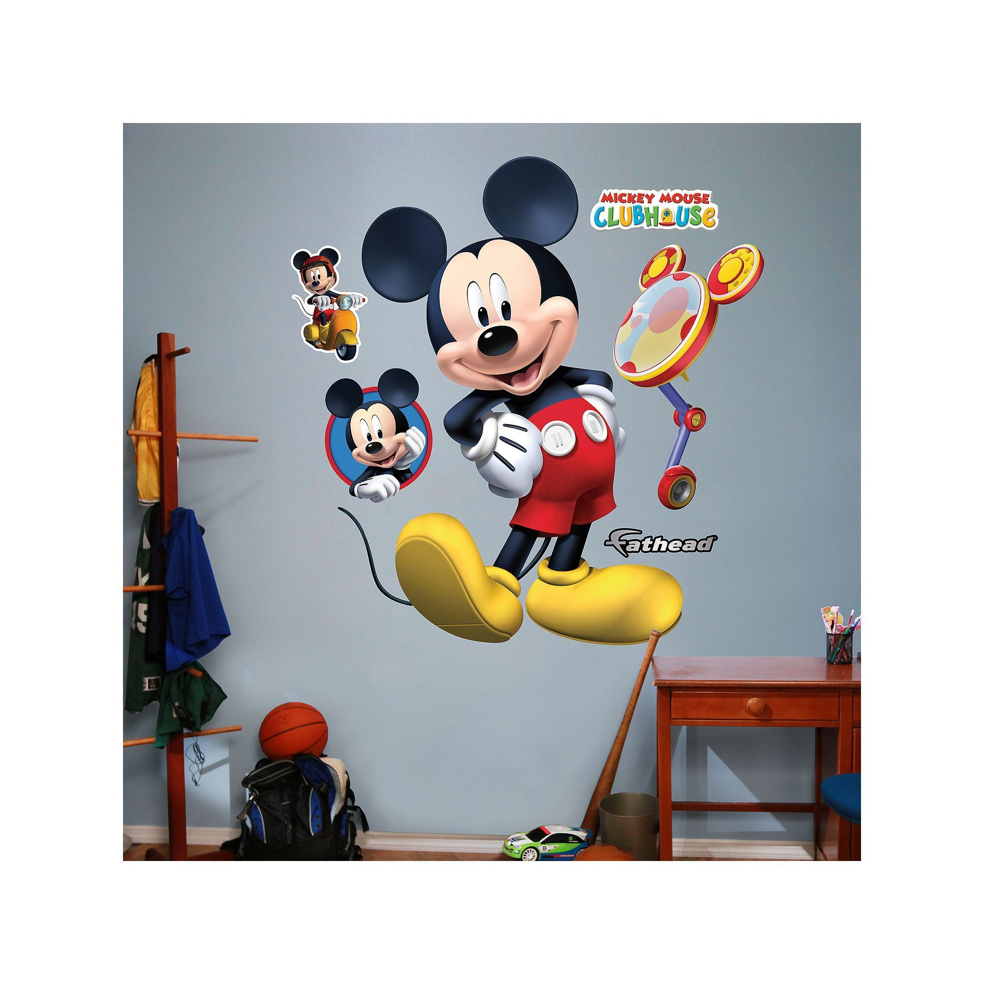 Disney Mickey Mouse Clubhouse Wall Decals By Fathead, Multicolor