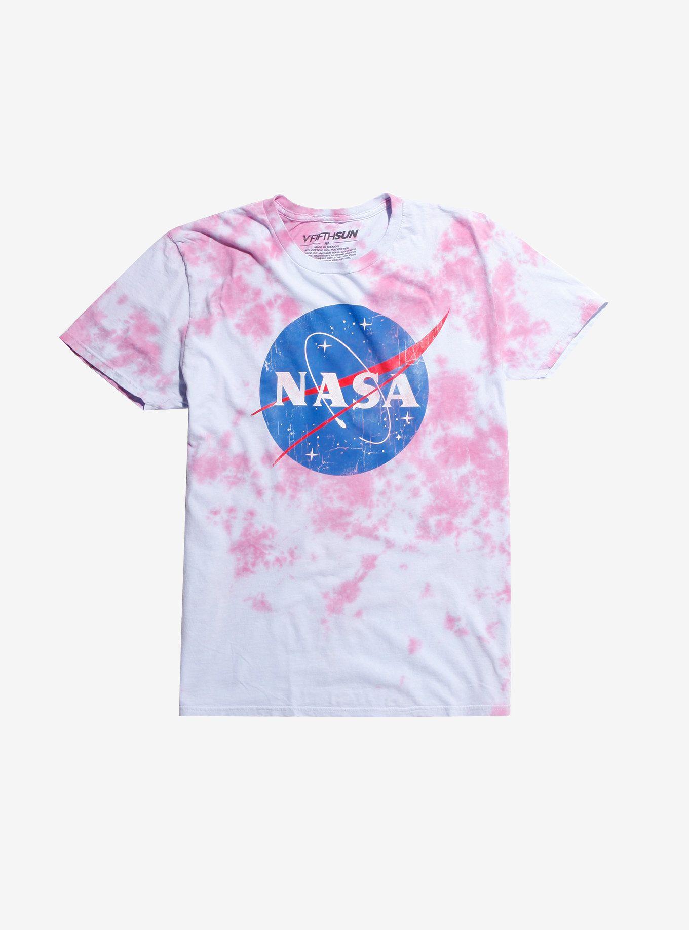 f183b687 NASA Logo Tie Dye T-Shirt | I just want to wear it | Tie dye t ...