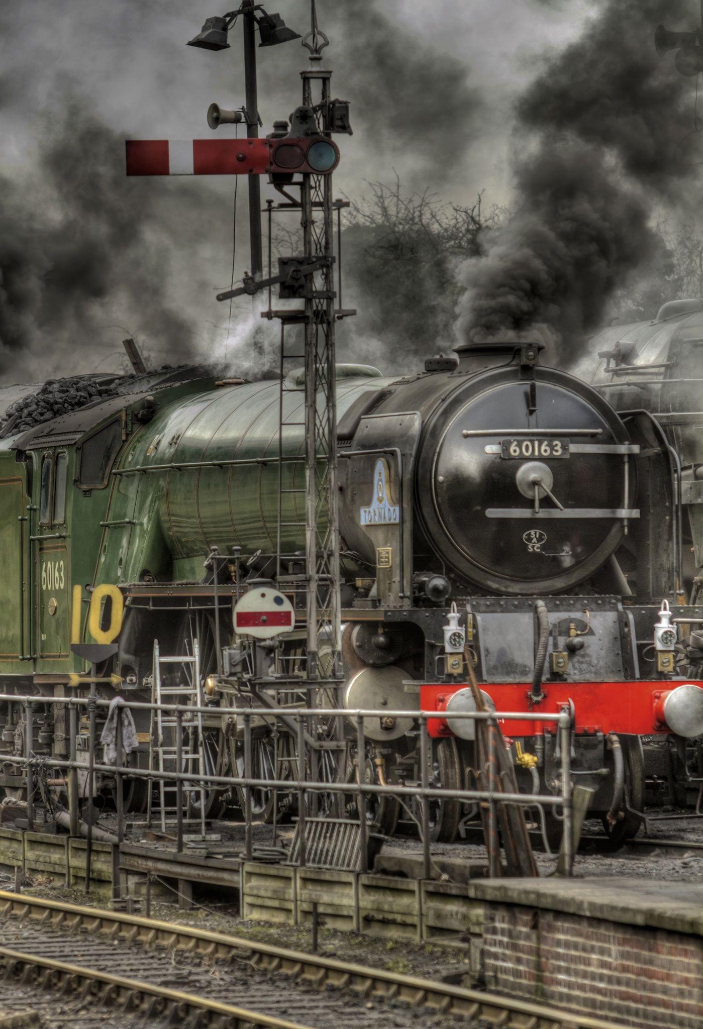 A1 Steam Locomotive Trust, locomotora, Nº 60163 Tornado