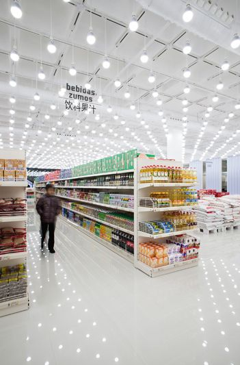 Now This Is A Supermarket Supermarket Wenzhou Madrid Diseno De