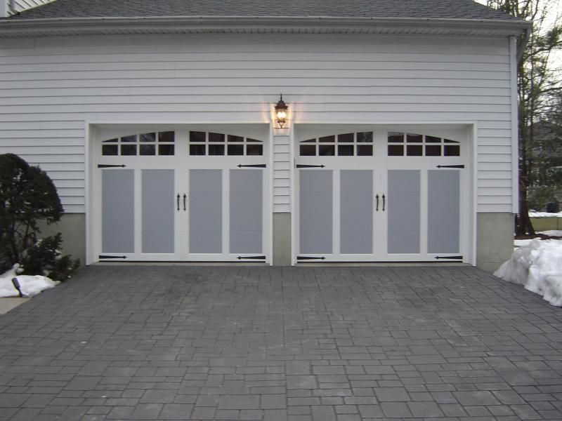 """Two tone garage door colors.   The """"Carriage"""" Style Look ..."""