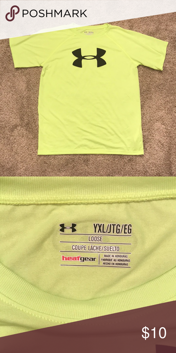 2d01e1a6 Boys Under Armour T-shirt, Loose Fit, Size XL Like new T-shirt ...
