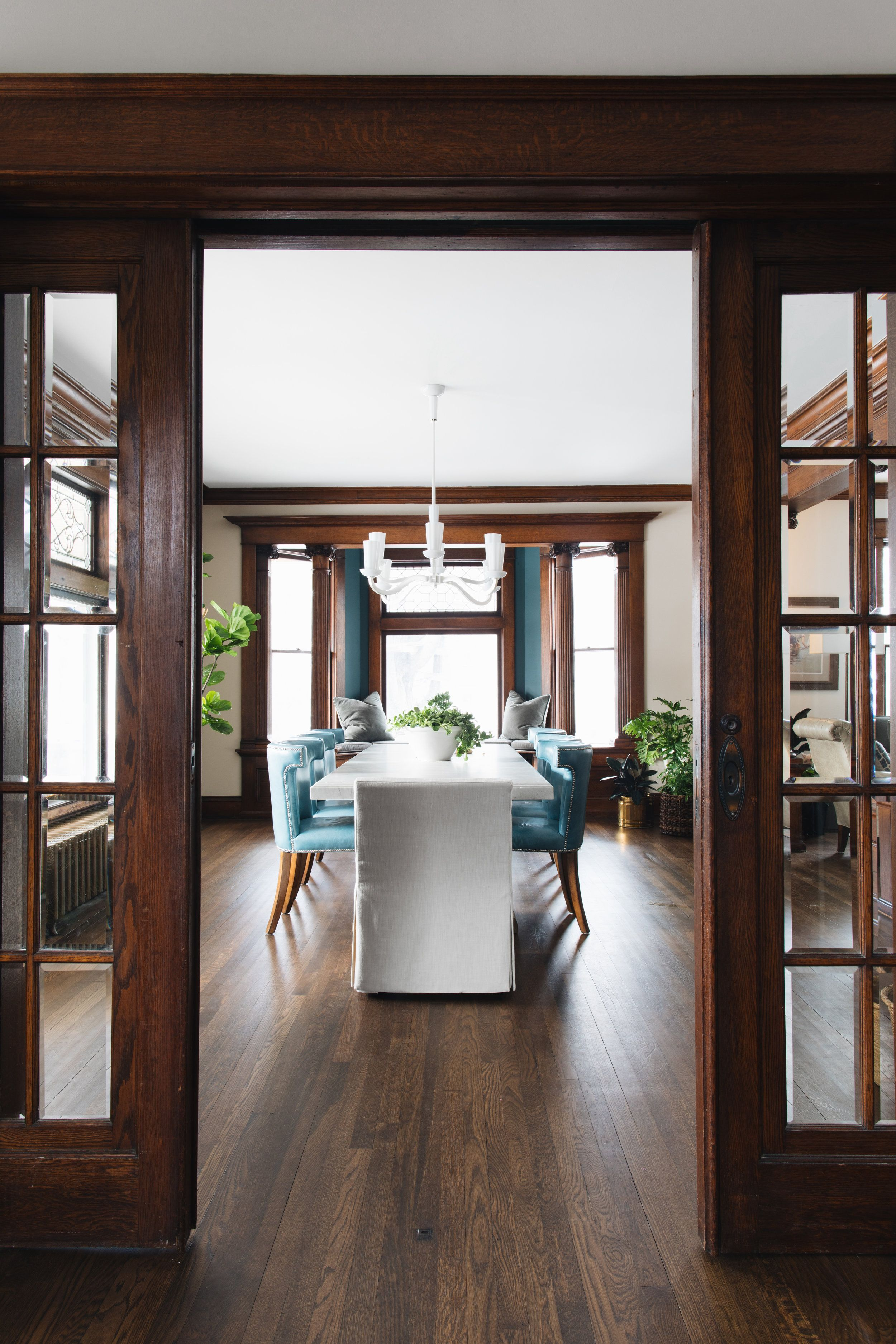 New House Image By Amanda Hutchings O Kelly In 2020 Dining Room