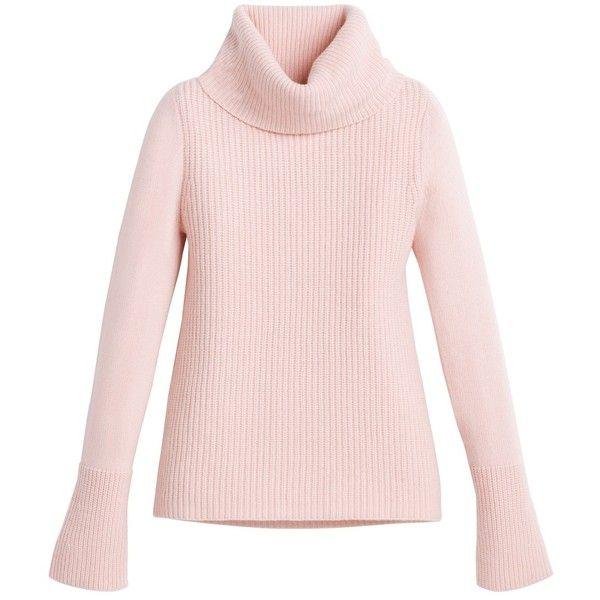 White House Black Market Ribbed Turtleneck Sweater ($60) ❤ liked ...