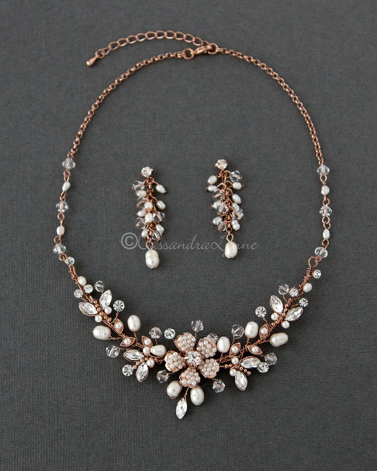 25Ct Marquise Cut Diamond Tennis Wedding Engagement Necklace 14K Rose Gold Over