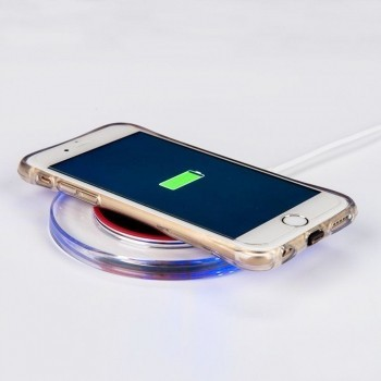LED Wireless Charging Pad for iPhone and Android in my #kit