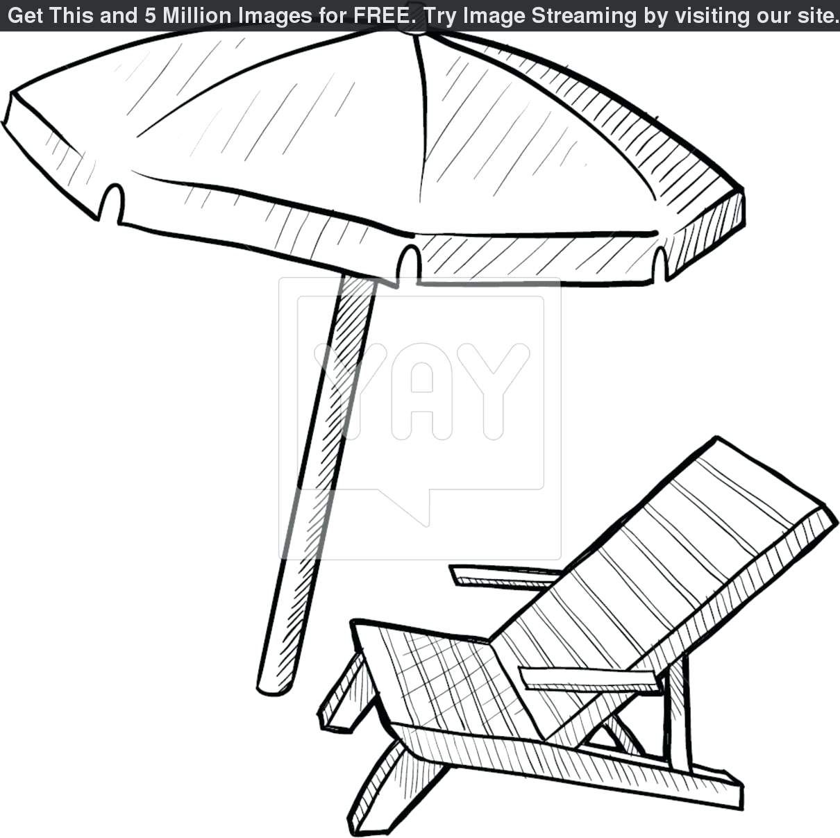 Garfield On A Beach Chair Coloring Page Cartoon Coloring Pages