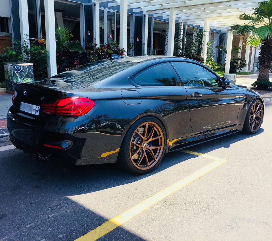 Thoughts On This Bmw M4 Competition Package Fitted With Gold Bbs