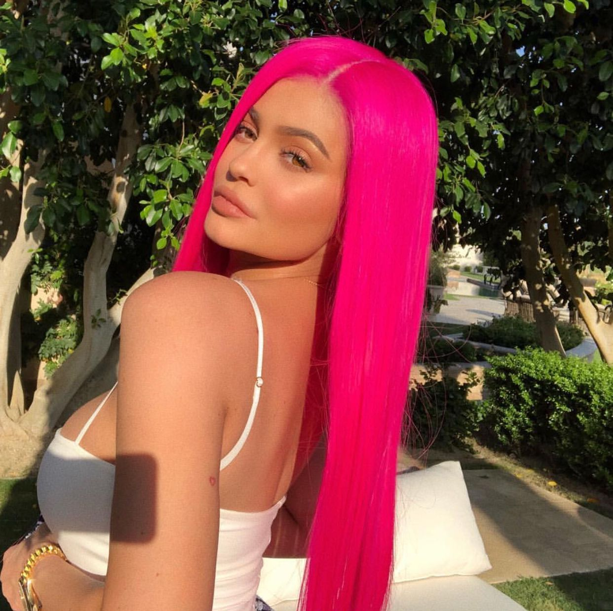 Kylie Jenner Kylie Jenner Hair Kylie Jenner Hair Color Hot Pink Hair