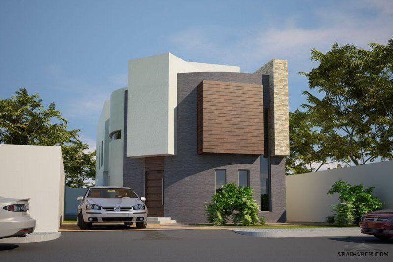 منازل جدة تصاميم الفيلا مساحة الارض 375 M 2 مساحة مسطح البناء 429 M 2 Villa Design Villa House