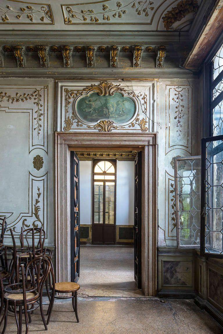 Palazzo zenobio venice french interiors french style for Italian villa interior