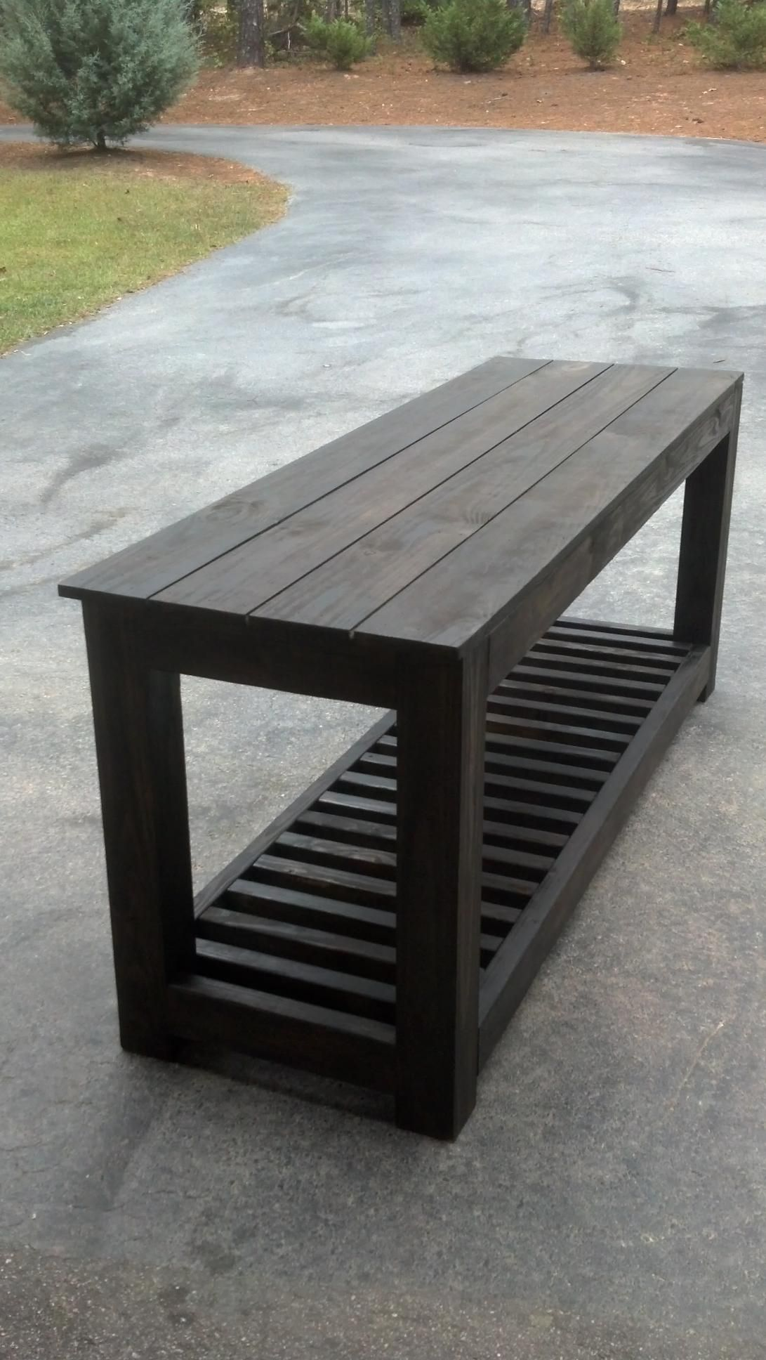 Custom built kitchen island/outdoor prep table