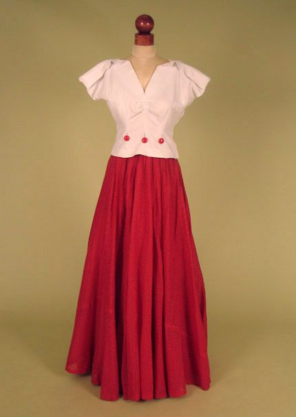 ~Summer Dress: ca. 1940~