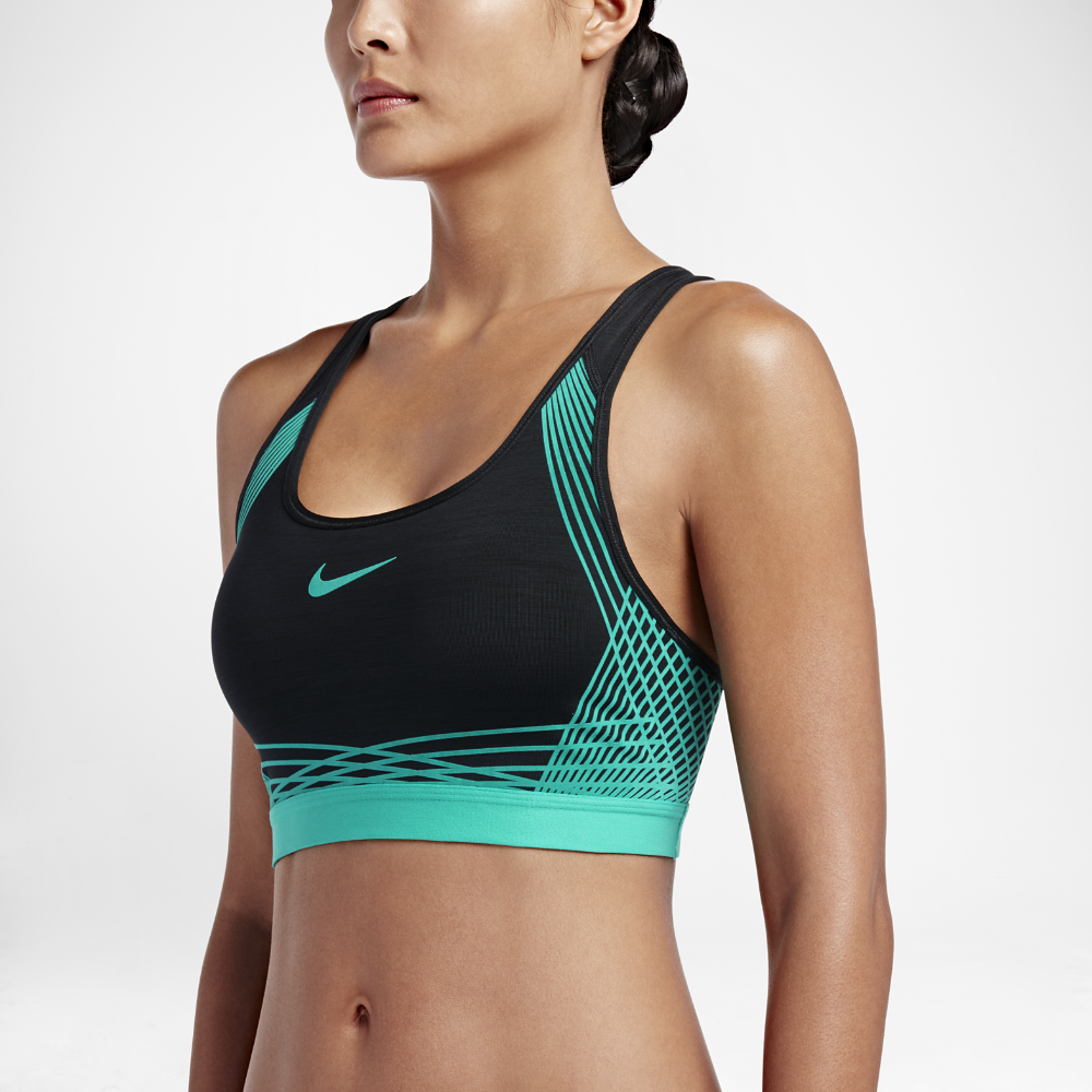 321a01dab0 Nike Pro Hyper Classic Padded Women s Medium Support Sports Bra Size Large ( Black) - Clearance Sale