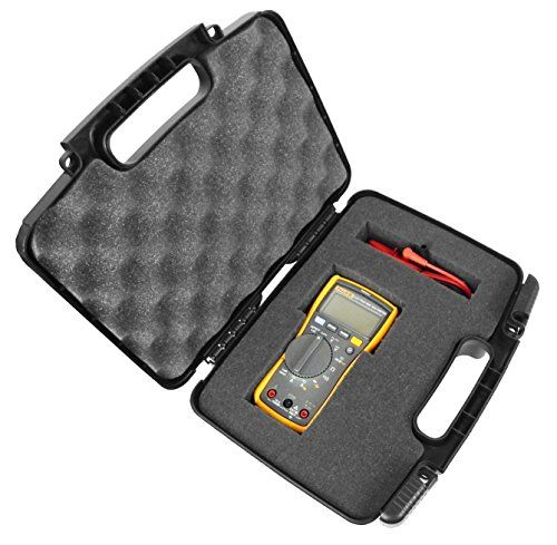 RUGGED Digital Multimeter Carrying Travel Hard Case with