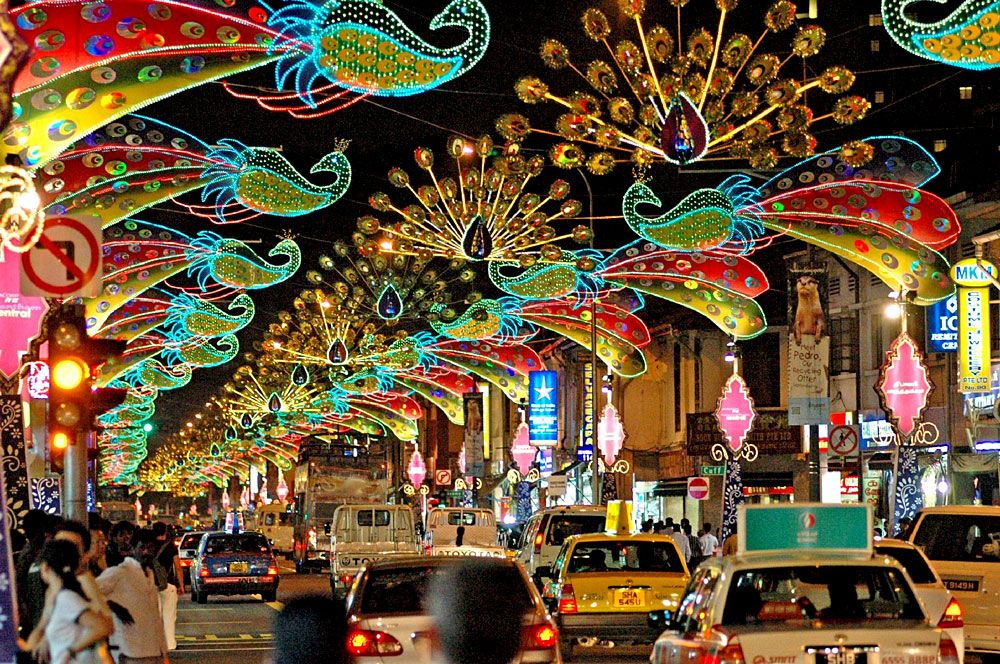 Diwali 2016 8 Little Known Deepavali Folklore And: Little India At Night -- Singapore