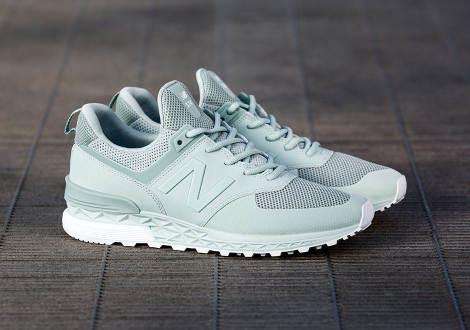 4a77bb038489 Earlier this week New Balance officially unveiled three tonal-colored  options of the New Balance