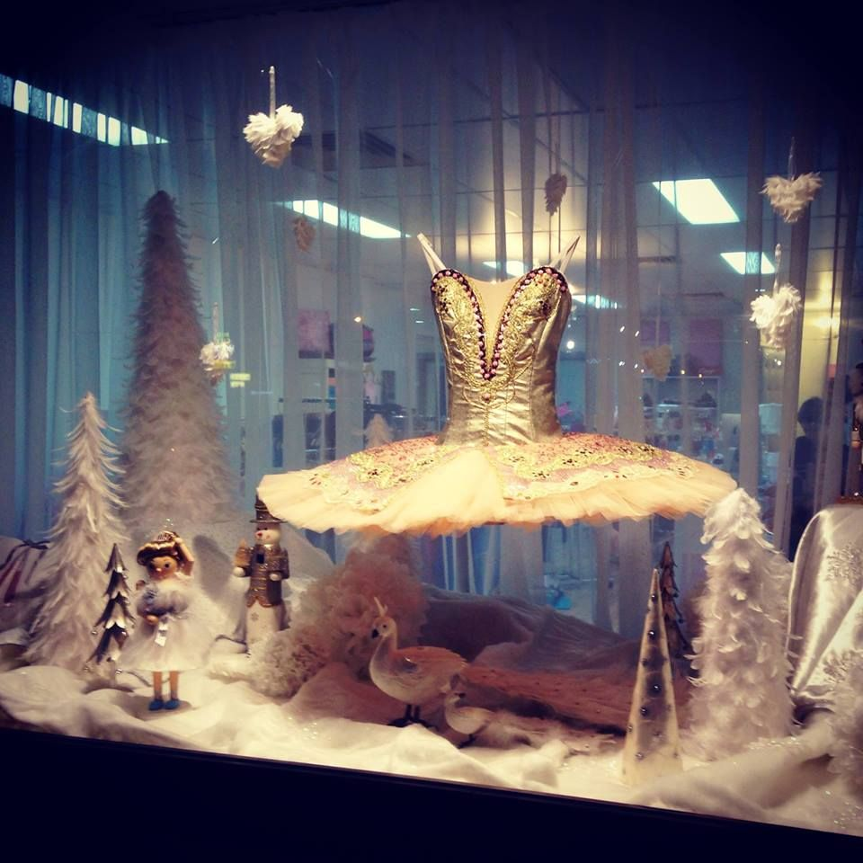 Our first window display,  Christmas 2013 xx