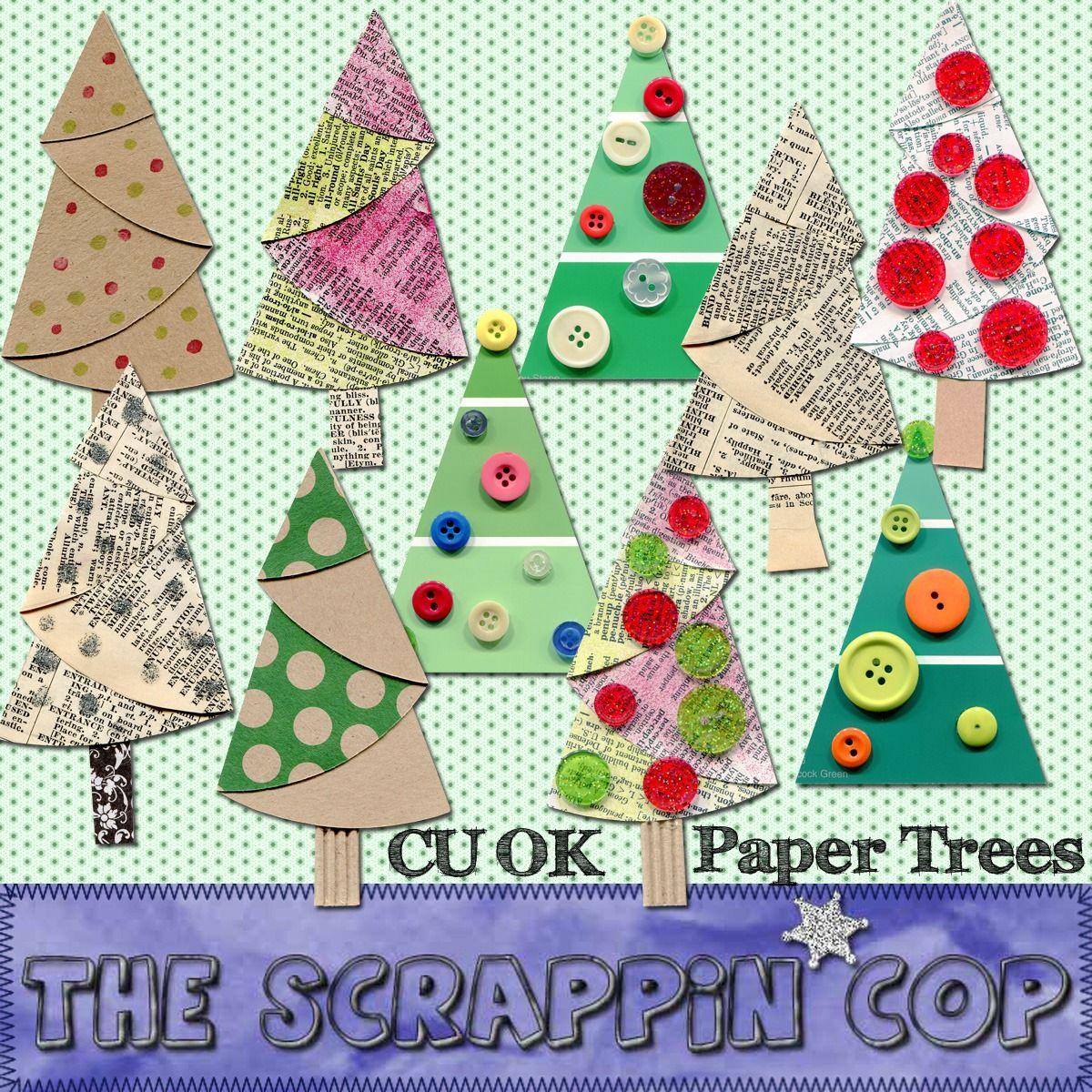Love the paintchipbutton trees sheus crafty pinterest button