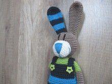 Photo of Crochet basket – with rabbit ++ great for Easter, crochet pattern Tom rabbit …