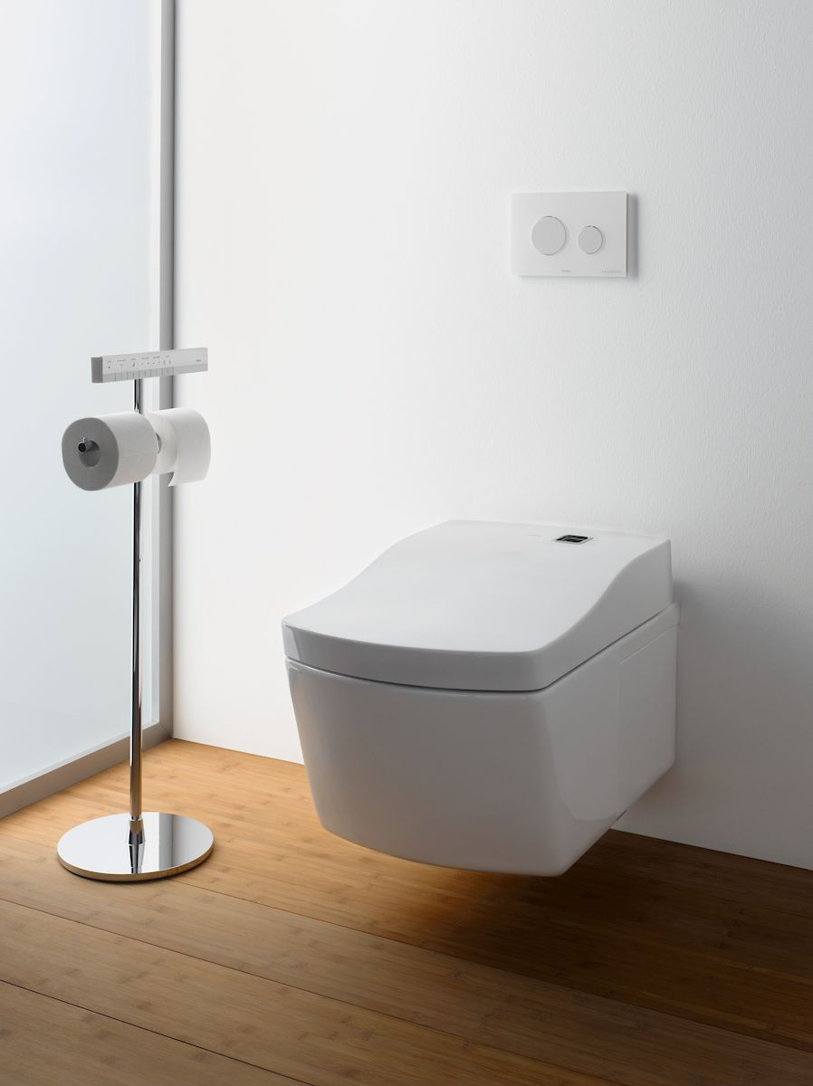 Simple, clean design is possible with TOTO Wall-Hung toilets ...