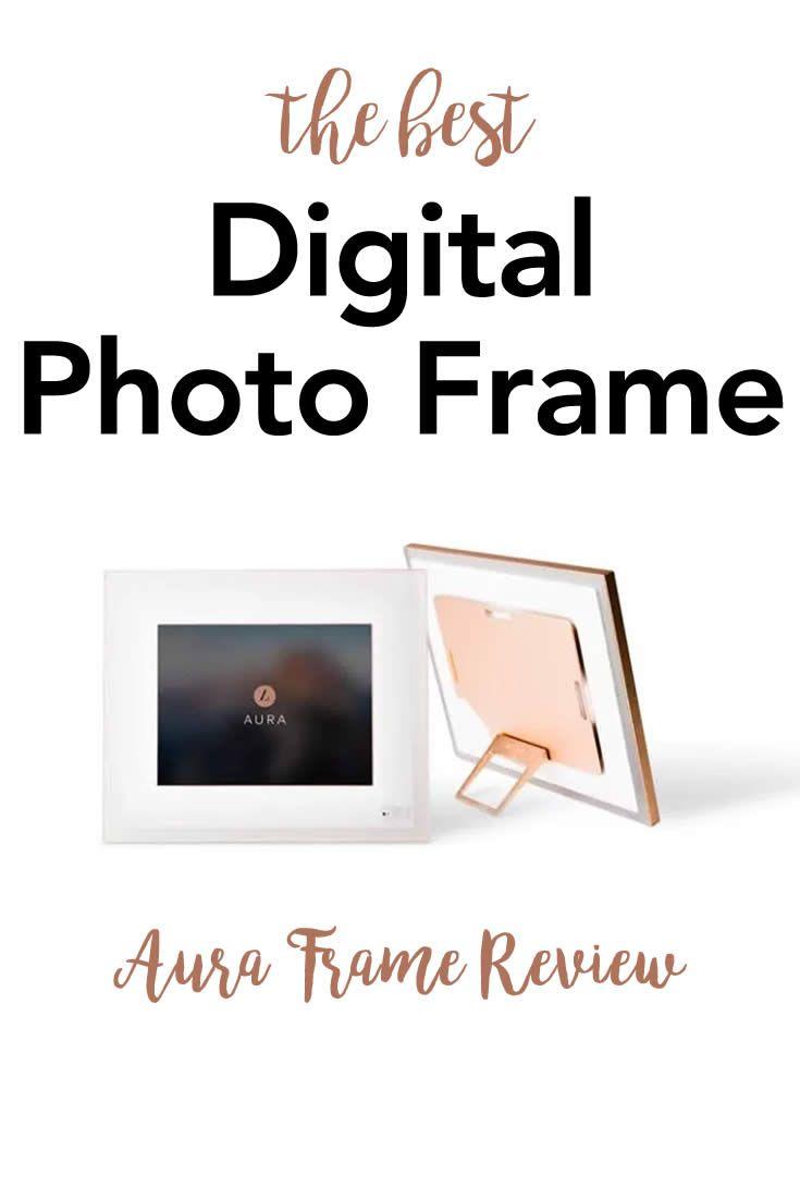 The BEST Digital Picture Frame EVER – Aura Digital Photo Frame ...